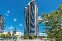 4 1/2 (2 bedrooms) condo for rent Nuns' Island / Île-des-Soeurs - Balcony with view of the river, doorman, swimming pool, SPA, Steam bath, Sauna, Training room, Reception room, Suites for guests